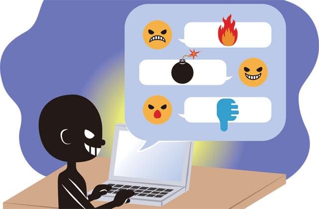 インターネットで横行する誹謗中傷の書き込み